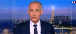 """Audiences """"20h"""": Le journal de TF1 reste largement leader - 200.000 téléspectateurs d'écart entre Quotidien sur TMC et Touche pas à mon poste sur C8"""