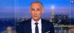 Audiences 20h: Le journal de Gilles Bouleau sur TF1 à plus de 5 millions  mais Anne-Sophie Lapix en forme sur France 2 à 4,6 millions de téléspectateurs