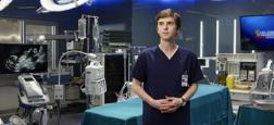 "Audiences Prime: ""Good Doctor"" sur TF1 large leader à 4,1 millions - France 2 et M6 dans un mouchoir de poche à 2,7 millions - Le film de W9 au-dessus du million"