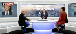 """Nouveau record d'audience historique hier pour """"Morandini Live"""" sur Cnews avec près de 3 fois l'audience du 11h/12h de LCI"""