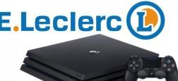 """Une Playstation 4 Pro avec un disque dur de 1 To et deux manettes et d'un jeu à 40 euros chez Leclerc... """"C'était une erreur"""" affirment les supermarchés !"""