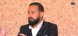 """Audiences """"20h"""": Avec l'interview de Hapsatou Sy, Cyril Hanouna sur C8 et """"Touche pas à mon poste"""" repassent devant Quotidien sur TMC"""