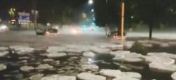 Morandini Zap: Découvrez les impressionnantes images d'une tempête de grêle qui s'est transformée en iceberg ! - VIDEO