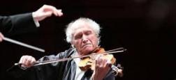Violoniste virtuose mondialement reconnu, Ivry Gitlis est décédé aujourd'hui à l'âge de 98 ans à Paris, a annoncé sa famille