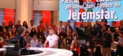 """Audiences access: Avec Jeremstar en invité, """"Quotidien"""" sur TMC grimpe à 1.450.000 téléspectateurs, leader des talks-shows"""