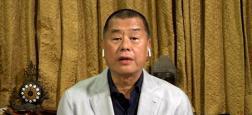 Chine - Le magnat hongkongais Jimmy Lai a été arrêté ce matin, et son groupe de presse perquisitionné au nom de la loi controversée sur la sécurité