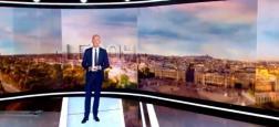 Audiences 20h: Près de 800.000 téléspectateurs d'écart entre le journal de Gilles Bouleau sur TF1 et celui d'Anne-Sophie Lapix sur France 2