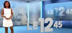 """Audiences: Le """"12.45"""" d'M6, présenté par Kareen Guiock, a réalisé hier midi un record historique en PDA"""