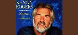 La star de la musique country Kenny Rogers, s'est éteinte cette nuit à l'âge de 81 ans - Le chanteur né au Texas était connu pour des tubes comme The Gambler, Lucille et Islands in the Stream