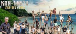 """Audiences Prime: Koh Lanta en hausse sur TF1 malgré le très bon démarrage de la nouvelle série de France 2 """"Astrid et Raphaëlle"""" à près de 4 millions de téléspectateurs"""