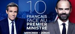 """Le Premier ministre Edouard Philippe participera mercredi soir à l'émission """"La grande explication"""", sur LCI et RTL pour répondre aux questions de 10 Français"""