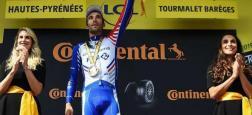 """Le directeur du Tour de France, Christian Prudhomme, annonce la fin des """"deux hôtesses"""" sur le podium remplacées par un homme et une femme"""