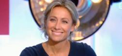 """Regardez les adieux d'Anne-Sophie Lapix qui présentait """"C à vous"""" pour la dernière fois sur France 5 hier soir"""