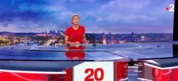 """Audiences """"20h"""": Les journaux de Gilles Bouleau et d'Anne-Sophie Lapix à plus de 5,1 millions de téléspectateurs hier soir"""