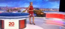 Audiences 20h: Le journal d'Anne-Sophie Lapix sur France 2 toujours très proche de Gilles Bouleau sur TF1 avec seulement 200.000 téléspectateurs d'écart