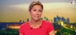 Audiences 20h: Seulement 200.000 téléspectateurs d'écart hier soir entre le journal de Gilles Bouleau sur TF1 et celui d'Anne-Sophie Lapix sur France 2