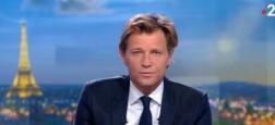 Audiences 20h: Environ 500.000 téléspectateurs d'écart hier soir entre les JT de Anne-Claire Coudray sur TF1 et Laurent Delahousse sur France 2