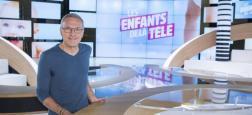 """Audiences Avant 20h: """"Sept à huit"""" sur TF1 leader à plus de 4 millions - """"Les enfants de la télé"""" sur France 2 battue par France 3 et M6"""