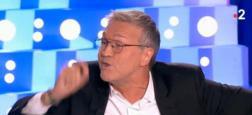 """Audience 2e partie de soirée : Malgré une diffusion à minuit, """"On n'est pas couché"""" de Laurent Ruquier frôle le million de téléspectateurs sur France 2"""