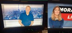 """Tout de suite, """"Morandini Live"""" sur CNews: Zemmour - EXCLU: Evelyne Thomas parle de Delarue en direct - Sale week-end pour TF1"""