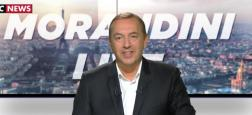 A 11h, en direct Morandini Live: L'actu média et les interviews exclusives de Christine Bravo, Ayem Nour, Evelyne Thomas et Olivier Delacroix (France 2)