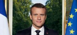 Découvrez le portrait officiel du président de la République Emmanuel Macron qui vient d'être dévoilé sur son compte Twitter