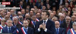 Emmanuel Macron face aux maires attire les téléspectateurs sur les chaînes info: Voici les scores