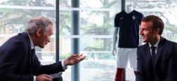 """""""Téléfoot"""" sur TF1 recevra le président de la République, Emmanuel Macron, dimanche matin évoque ses """"souvenirs de football"""""""