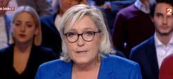 """Pour la présidente du Front national Marine Le Pen, le harcèlement de rue est dû """"en immense majorité aux ressortissants de l'immigration"""""""