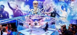 """Audiences 2e PS: L'émission """"Merci les Bleus"""" attire plus de 2,8 millions de téléspectateurs à 22h40 sur TF1"""