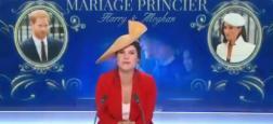 SPECIAL MEGHAN ET HARRY - Regardez Apolline de Malherbe sur BFM TV qui portait un chapeau pour débuter son émission spéciale à 11h