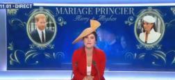 Voici les audiences des éditions spéciales des chaînes infos, hier, sur le mariage de Meghan et Harry en direct de Windsor