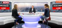 """Pour le 4ème jour consécutif, """"Morandini Live"""" à plus de 100.000 sur CNews et 1ère chaîne info de France sur les CSP+ et les 25/49 ans"""
