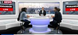 Audiences: Nouveau succès pour Morandini Live hier de 11h à midi sur CNews qui fait quasiment le double de LCI à la même heure