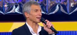 """Audiences Avant 20h: """"N'oubliez pas les paroles"""" de Nagui sur France 2 poursuit sa course en tête devant """"Demain nous appartient"""" sur TF1"""