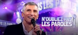 """Audiences Avant 20h: Nagui s'envole à 4,3 millions hier soir avec """"N'oubliez pas les paroles"""" et domine très largement l'access en particulier face à TF1"""
