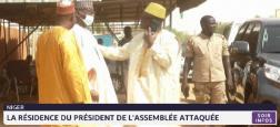 Des hommes armés ont mitraillé le domicile du président du Parlement du Niger, Seïni Oumarou, tuant et un de ses gardes du corps et blessant grièvement un deuxième