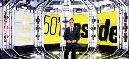 """Audiences Avant 20h: Nagui leader sur France 2 avec 600.000 téléspectateurs de plus que TF1 et """"50 Mn Inside"""" - Retour timide pour """"C l'hebdo"""" sur France 5"""