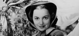 """Dernière légende de l'Âge d'or de Hollywood et star de """"Autant en emporte le vent"""",  Olivia de Havilland est décédée - A 104 ans, elle était la deuxième actrice la plus âgée du monde"""