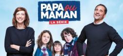"""La série """"Papa ou maman"""", avec Florent Peyre et Emilie Caen, lancée le jeudi 6 décembre en prime sur M6"""