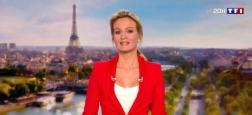 Audiences 20h: Le journal d'Audrey Crespo-Mara sur TF1 reprend très largement le dessus sur Laurent Delahousse sur France 2 avec 1,4 million de plus
