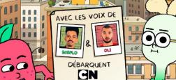"""La chaîne Cartoon Network lance le 20 octobre prochain """"Pomme et Oignon"""", une série animée avec les voix des rappeurs Bigflo et Oli"""