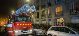 Ardennes: Un pavillon dévasté par le feu tôt ce matin fait 3 morts dont une petite fille de 6 ans - Une quarantaine de pompiers ont été dépêchés sur les lieux de l'incendie