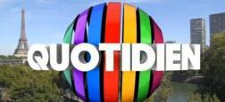 Audiences 20h: En pleine polémique avec Valeurs Actuelles, les audiences de Quotidien sur TMC s'envolent à plus de 1,7 million de téléspectateurs