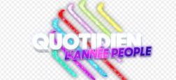 """TMC proposera de revoir les meilleurs moments people de l'émission """"Quotidien"""" le mercredi 2 janvier prochain à 21h00"""