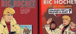 """André-Paul Duchâteau, co-créateur avec Tibet de la série culte des années 60 """"Ric Hochet"""", est décédé à Uccle (Belgique) à l'âge de 95 ans"""