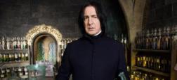 Alan Rickman (alias Severus Rogue) se sentait frustré durant les tournages d'Harry Potter - Des lettres du comédien dévoilées deux ans après sa mort