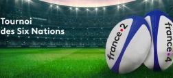 """Rugby - Du 1er février au 15 mars prochain, France Télévisions diffusera en direct """"Le Tournoi des 6 Nations"""" sur France 2 et sur France 4"""