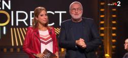 """Audience 2e PS : Laurent Ruquier et Léa Salamé attirent 770.000 téléspectateurs hier soir sur France 2 avec """"On est en direct"""" à 23h20"""