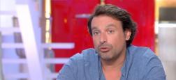 """Bruno Salomone et Caroline Proust en tournage pour """"Une mort sans importance"""", un téléfilm qui sera diffusé prochainement sur France 2"""